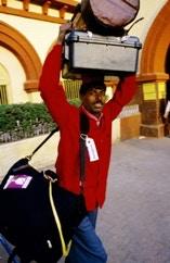 Lotsa luggage!