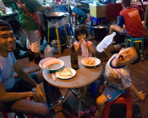 Th Tani, Street Market, Banglamphu, Bangkok