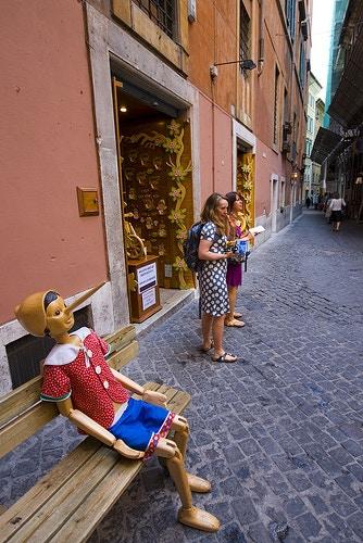 Pinocchio in Rome