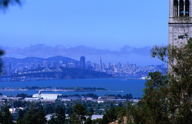 View of San Francisco from Berkeley