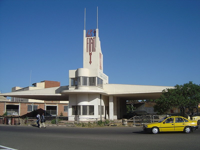 Asmara's Tagliero Building