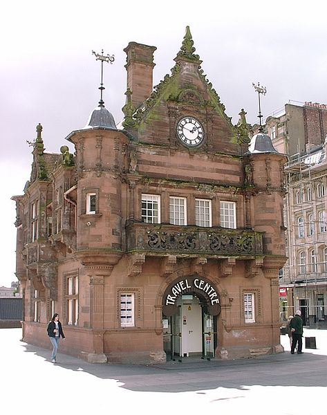 St Enoch's Station building, Glasgow