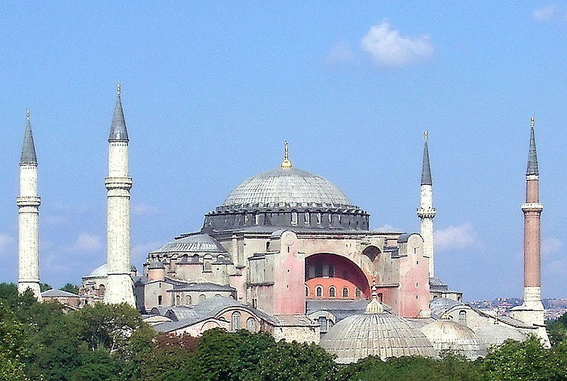 More culture in one building than in some entire countries: Aya Sofya, Istanbul