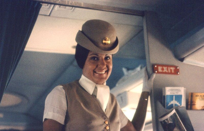 When flying was fun - Pan Am in the 1970s (Wikimedia Commons)