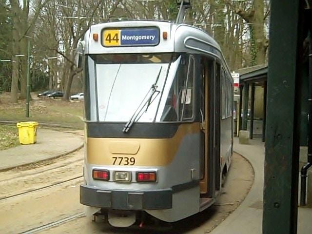 44 tram at Tervuren