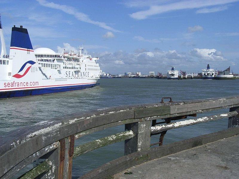 The Calais ferry: target for cross-European wanderers