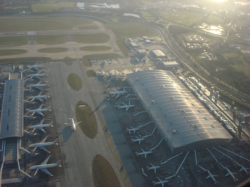 Heathrow: only sparrows flying