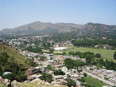 View over Abbottabad