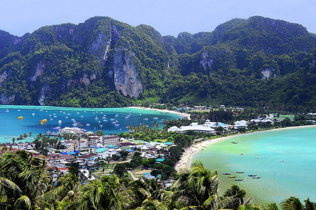 Thailand. Phi Phi Island. Beach. Sea.