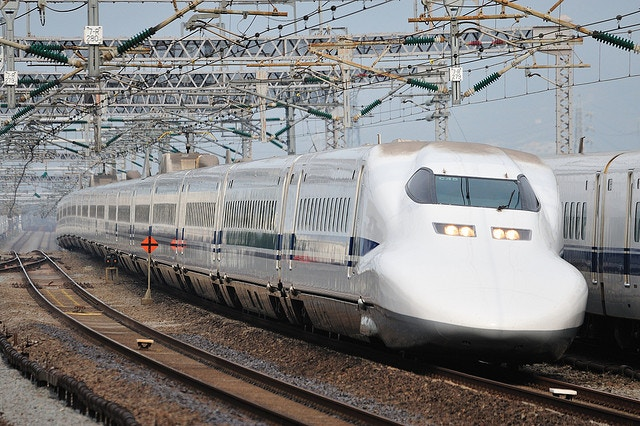 Shinkansen. Bullet Train. Japan. Railway.