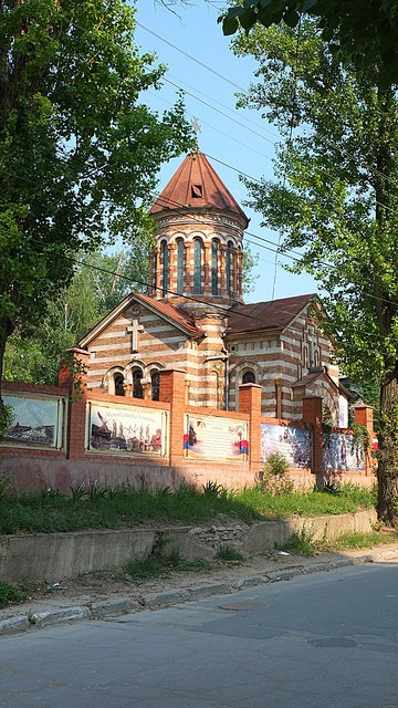Chisinau. Moldova. Church.