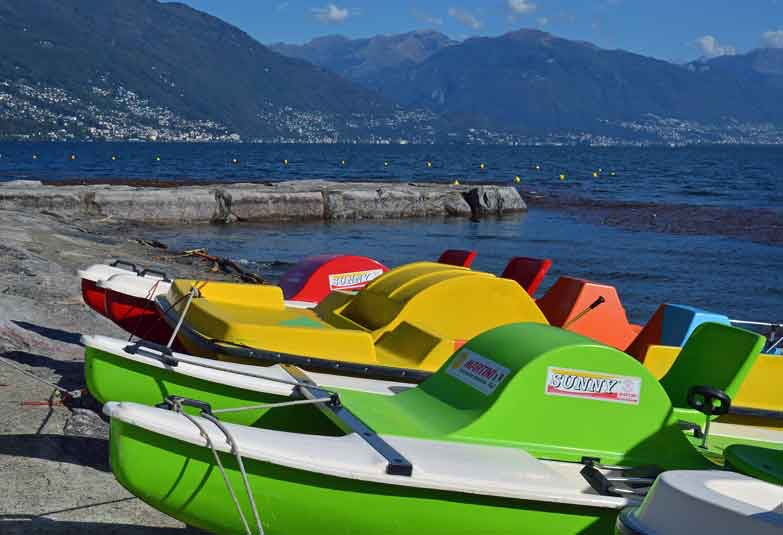 Pedalos - hopefully with a capable crew. Image by Irene Grassi. CC BY-SA 2.0.