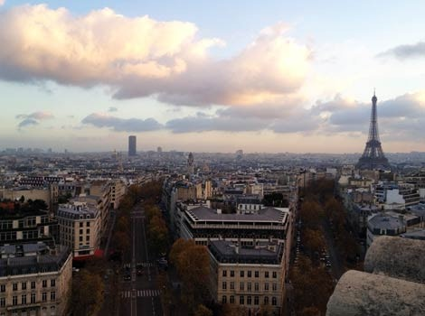 The dreamy rooftops of Paris are calling... Image courtesy of Emma Sparks / Lonely Planet.