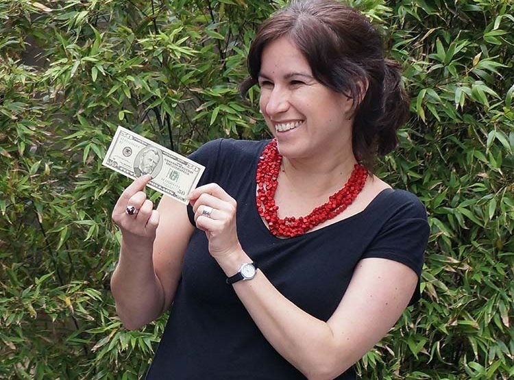 This LP staffer is never without a lucky $50 note. Image by Anita Isalska / Lonely Planet
