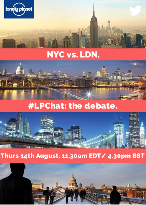 NYC vs. LDN #LPChat