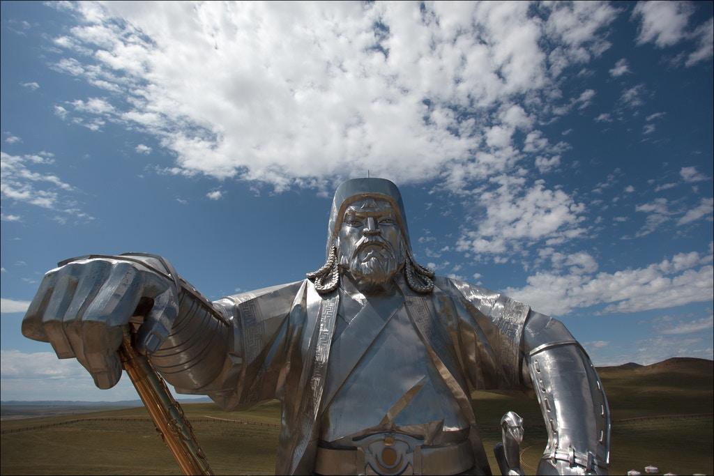 Genghis Khan statue, Mongolia Image by Ludovic Hirlimann / CC 2.0