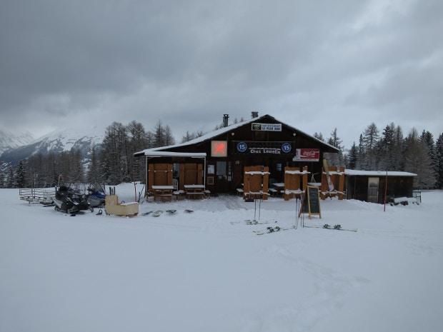 Chez Laurette  restaurant, near La Plagne. Image by James Smart / Lonely Planet