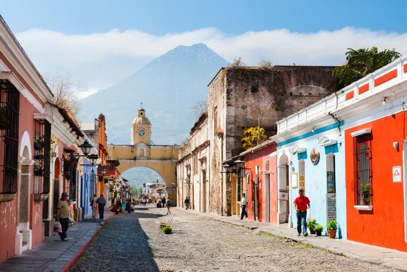 The Arco de Santa Catalina, Antigua, Guatemala.