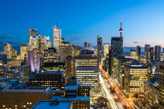 Toronto skyline. Image by Naeem Jaffer / Moment / Getty image