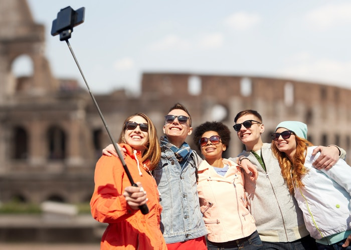 Wonderings: don't cast an evil spell with your selfie stick