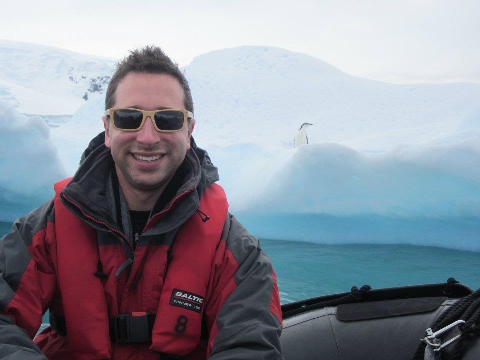 Dan in Antarctica