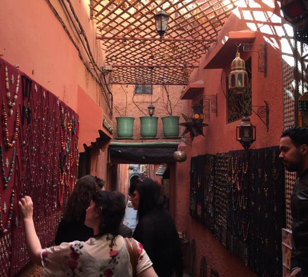 Just back from: Marrakesh