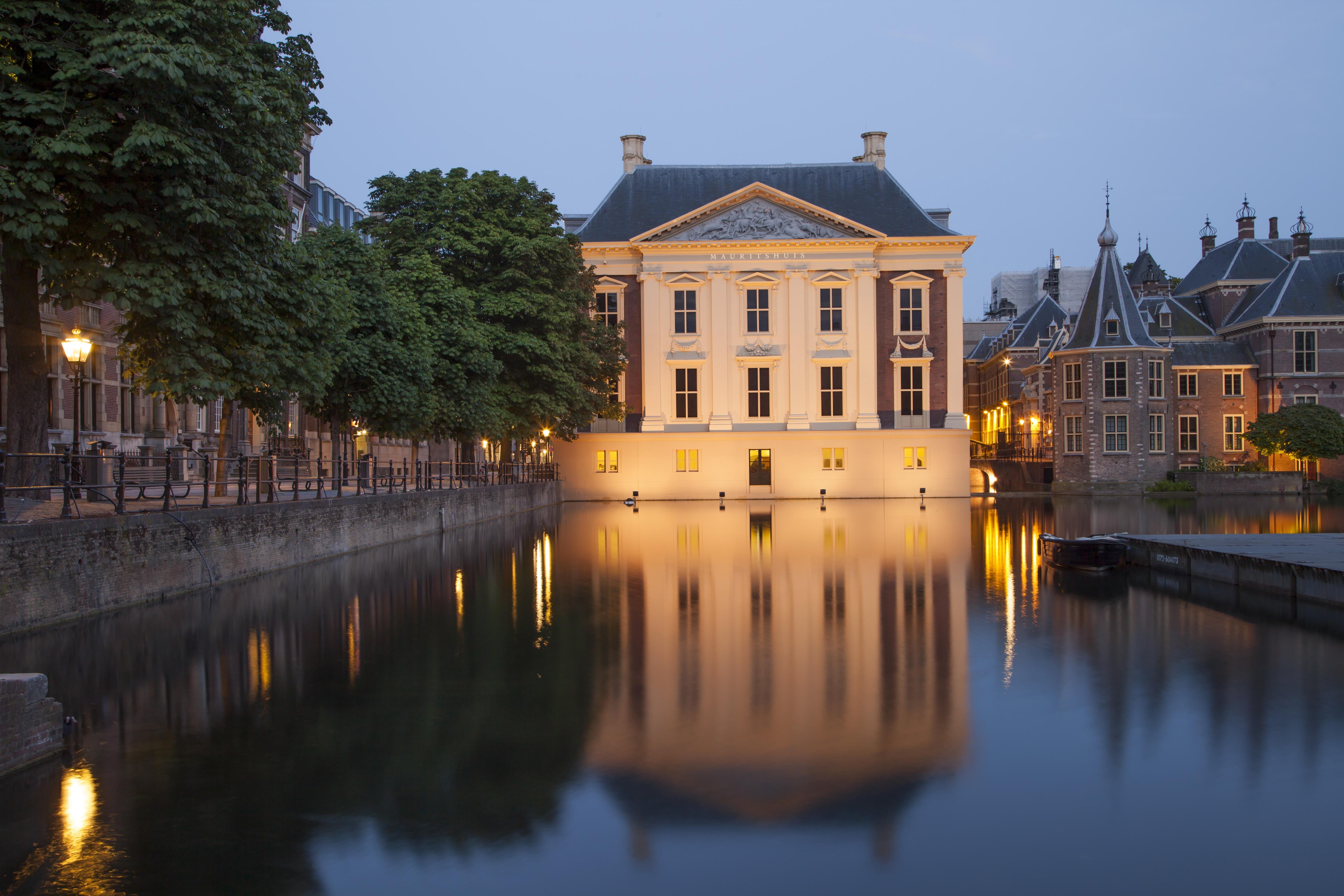 Mauritshuis Museum near Binnenhof Palace in Hague, Netherlands. ©Sergey Dzyuba/Shutterstock