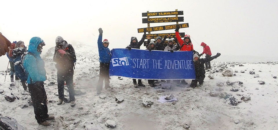 STA Travel Banner