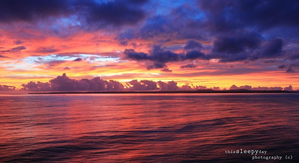 Vanuatu Sunset - thissleepyday