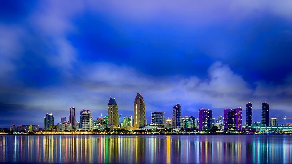 Downtown San Diego pre-dawn - R*Pacoma