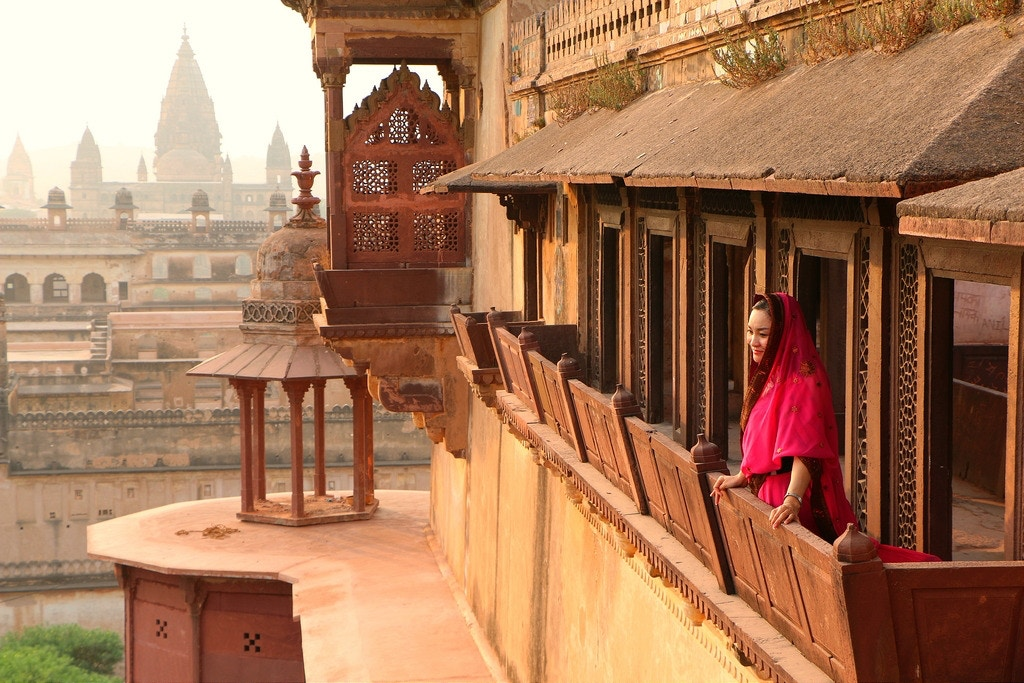 Jahangir Mahal. Orchha, India - jafsegal