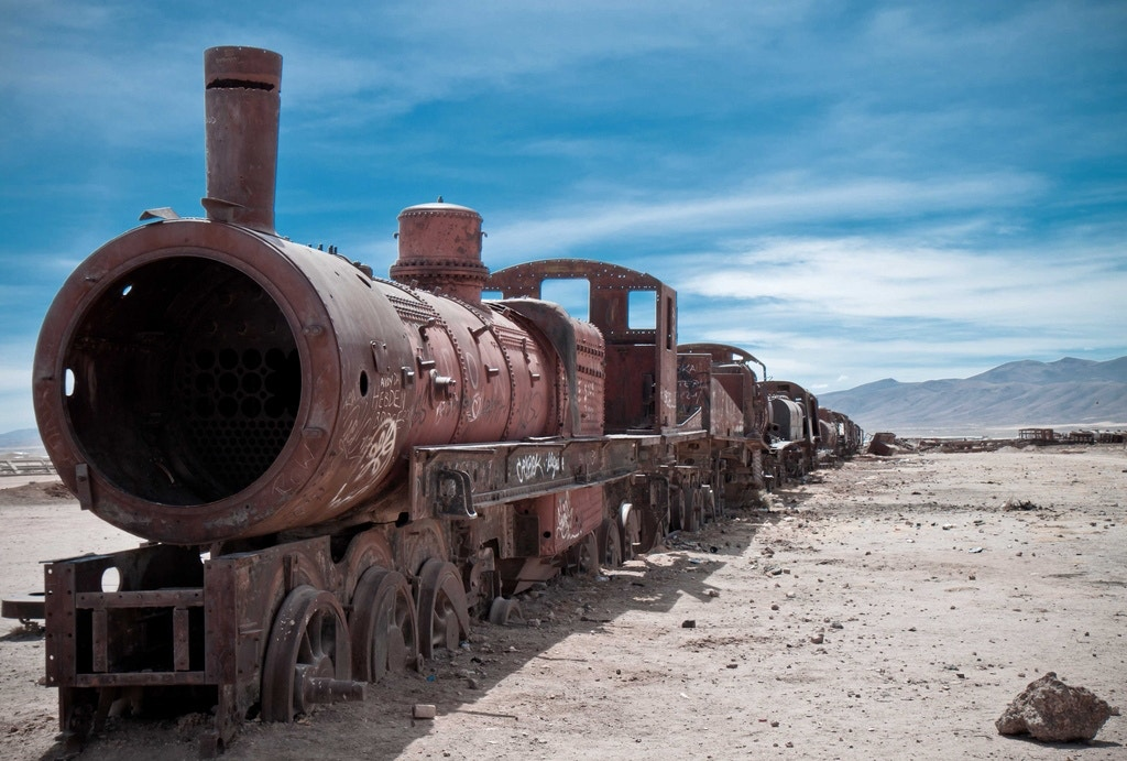 Train Graveyard (Salar de Uyuni, Bolivia) - rabbit.Hole