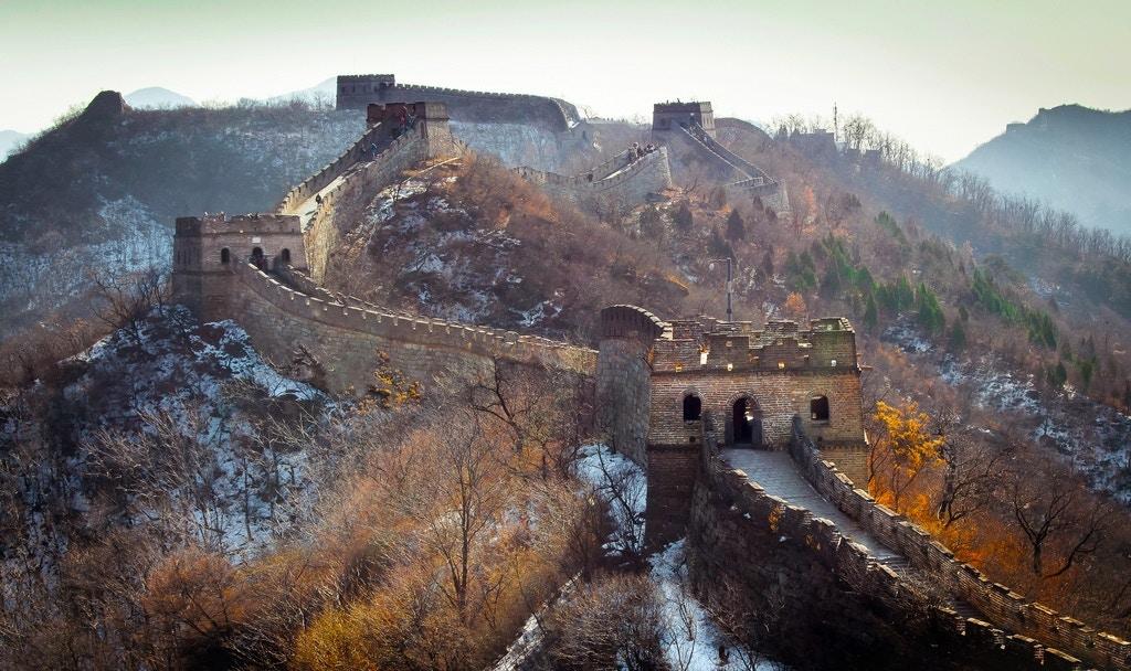 Great Wall, Mutianyu section - Square Lamb
