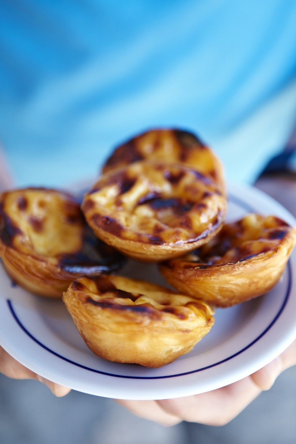 Portuguese tarts from Pateis de Belem.