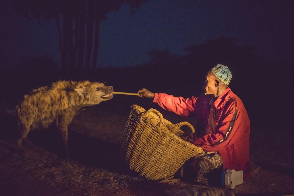 The hyena man of Harar - De Wet Moolman