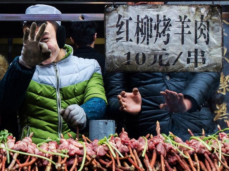 Xi'an, China - Square Lamb Photography