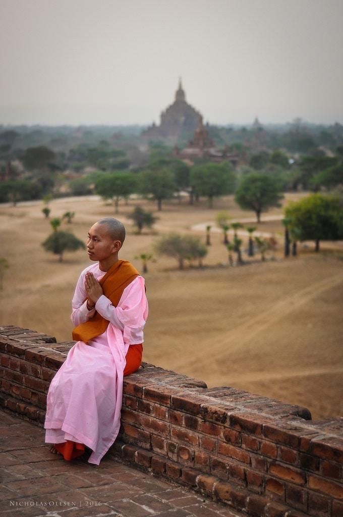 Bagan Sunset - Nun - Nicholas Olesen Photography