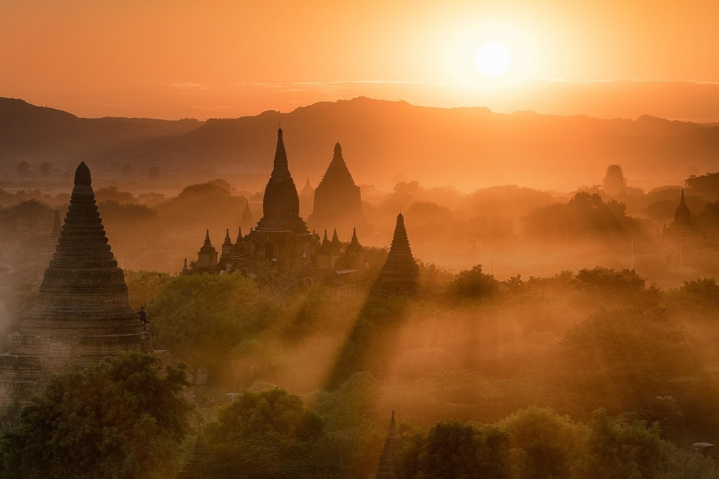 A Bagan Sunset - Travel In Focus
