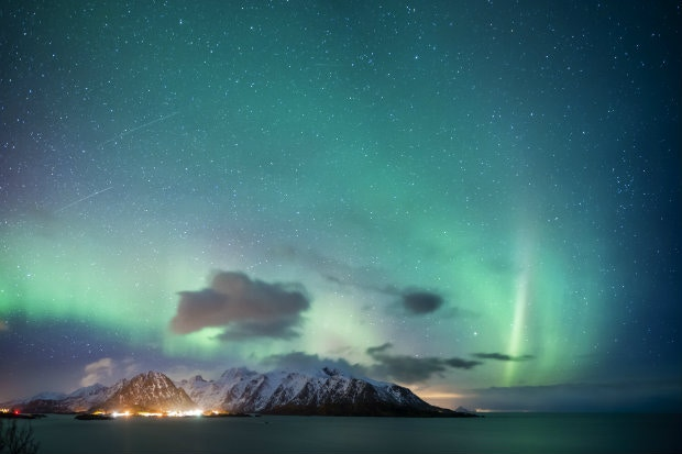 Keenette is keen to see the Northern Lights © Justin Foulkes / Lonely Planet