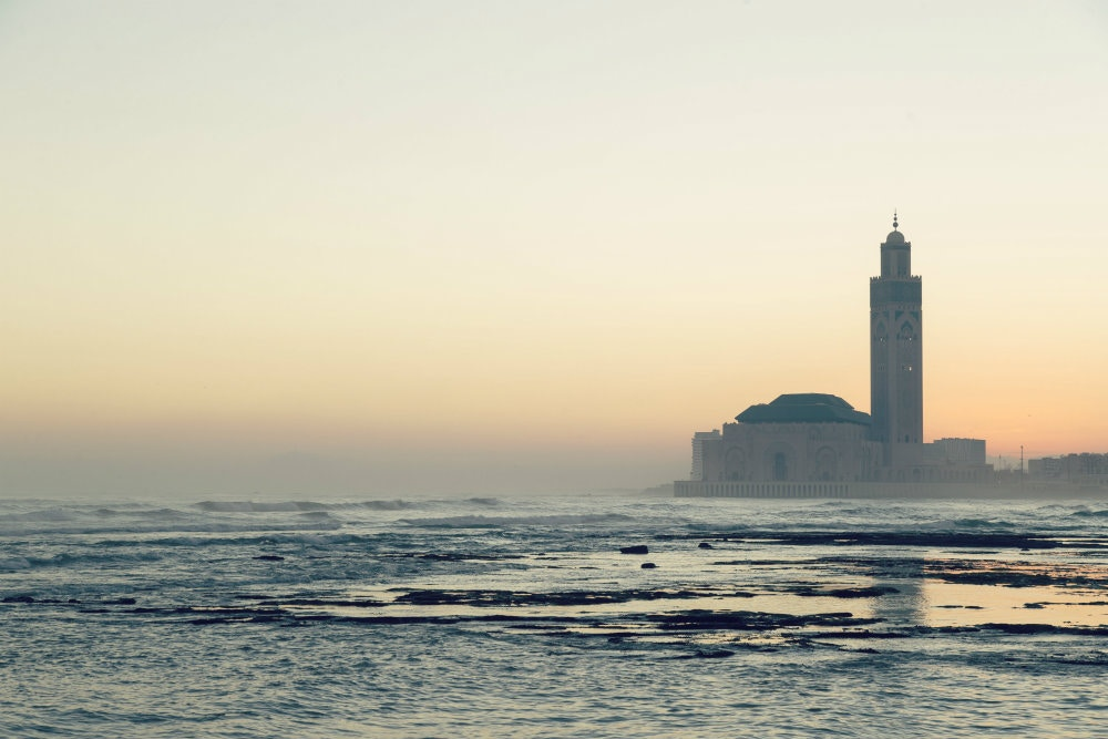The Hassan II Mosque is the largest in Morocco © Philip Lee Harvey / Lonely Planet