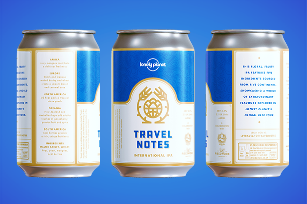 Our limited-edition IPA: Travel Notes