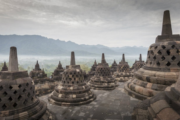 Borobodur in Indonesia