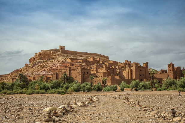 Ait Ben-Haddou clay casbah in Morocco