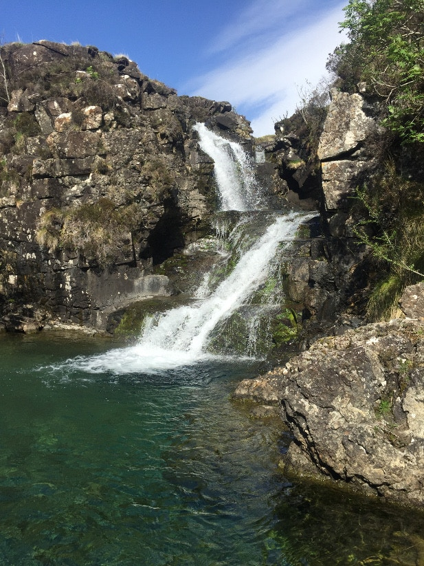 Near Fairy Pools Glen Brittle