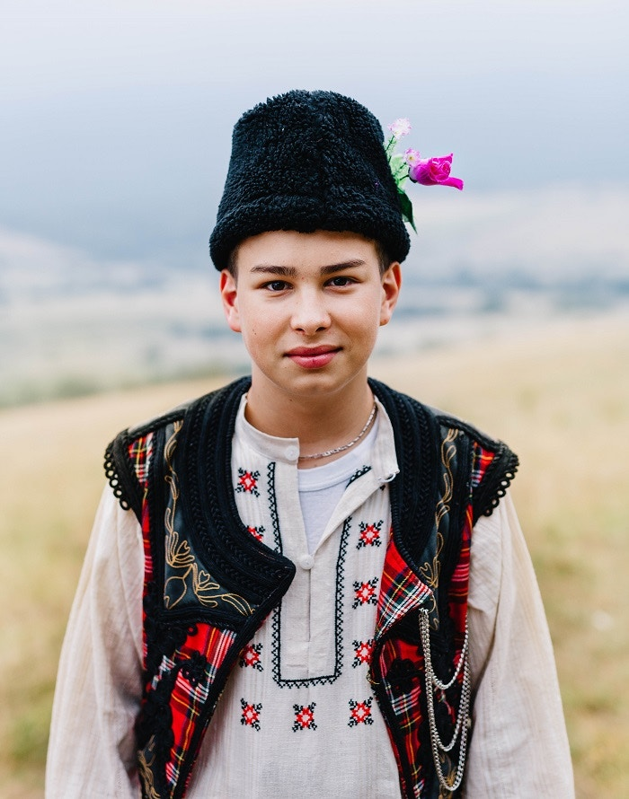 A local boy at Bulgaria's Zheravna folk festival © Kit Oates / Lonely Planet