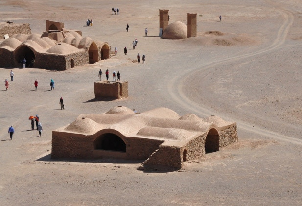 The Zoroastrian Towers of Silence in Yazd