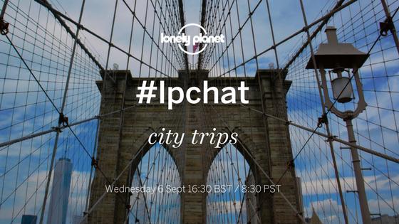 #LPChat - city trips blog title