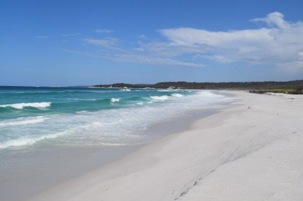 Beach at Bay of Fires, Tasmania