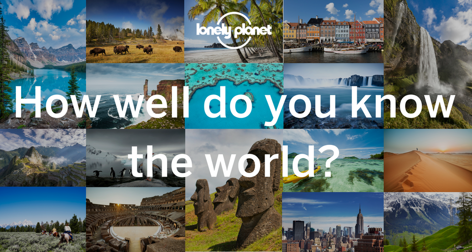 Travel quiz: January edition