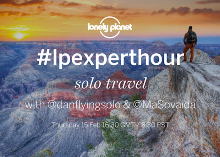 #lpexperthour: solo travel